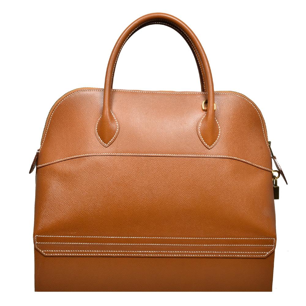 ewa lagan - Hermès Bolide McPherson 34 Epsom Leather Leder Gold ... 8247675d9d3c8
