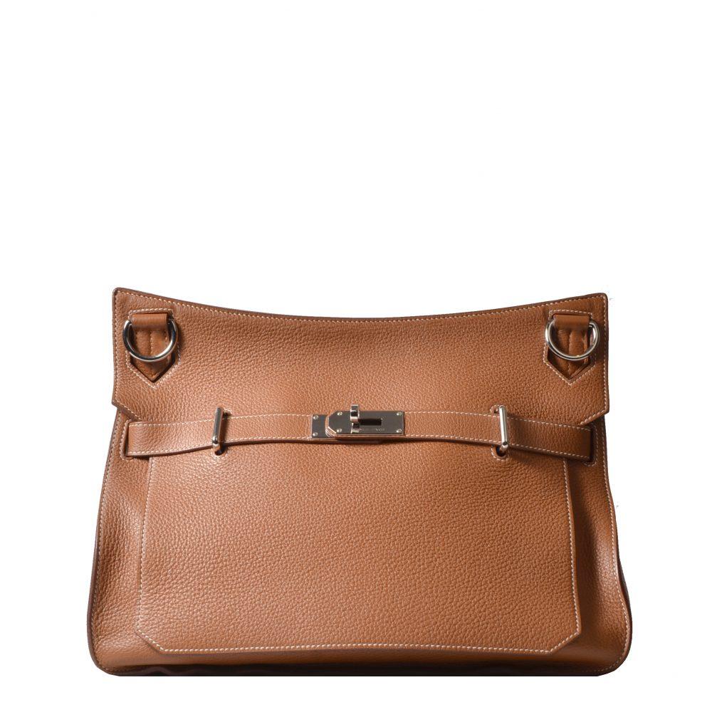 Hermes Bag Tasche Jypsiere 37 Clemence Palladium