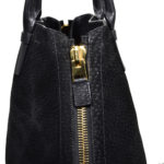 Tom Ford Shopper buckskin leather black Kopie