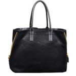 Tom Ford Shopper buckskin leather black3 Kopie