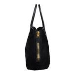 Tom Ford Shopper buckskin leather black6 Kopie