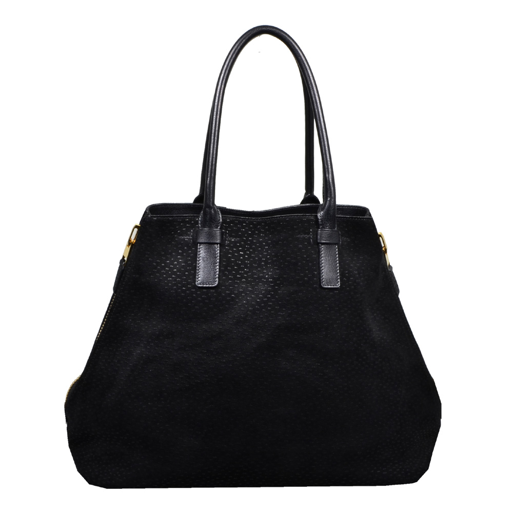 Tom Ford Shopper buckskin leather black7 Kopie
