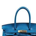 Hermès_Birkin_30_blue_izmir_Clemence_palladium_14000€_Detail Kopie