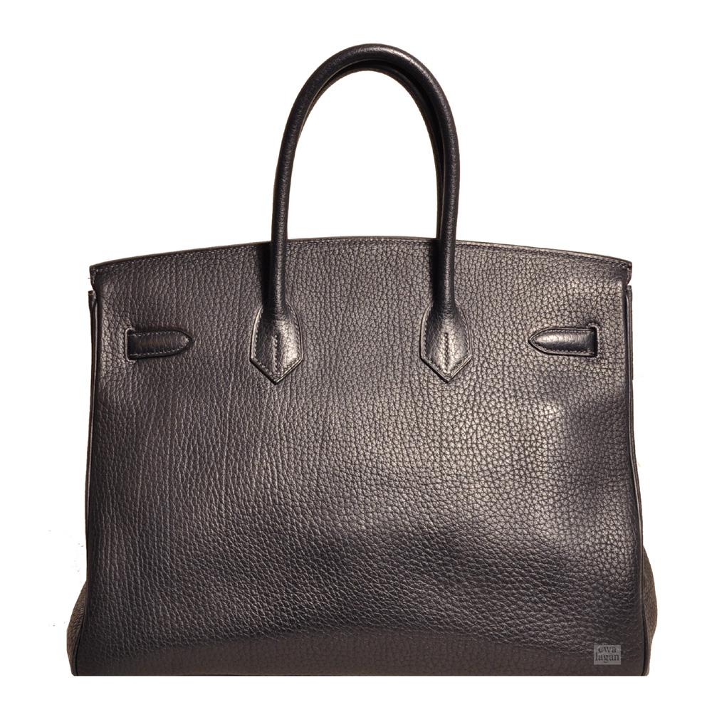 0441b07c109b ewa lagan - Hermès Birkin 35 Blue Nuit Fjord Leather Gold