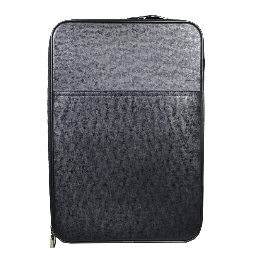 Louis Vuitton trolly 55 taiga leather grey_8 Kopie