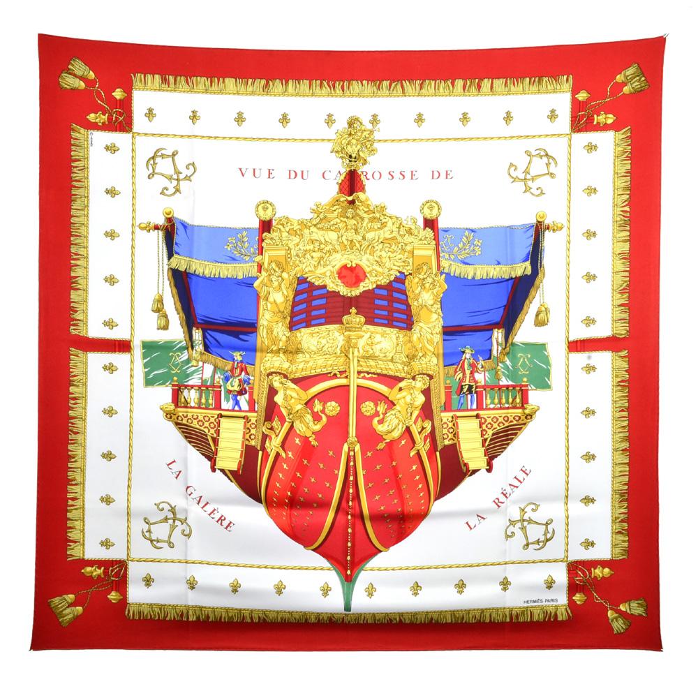 ewa lagan hermès carre 90x90 100 silk vue du carrosse de la