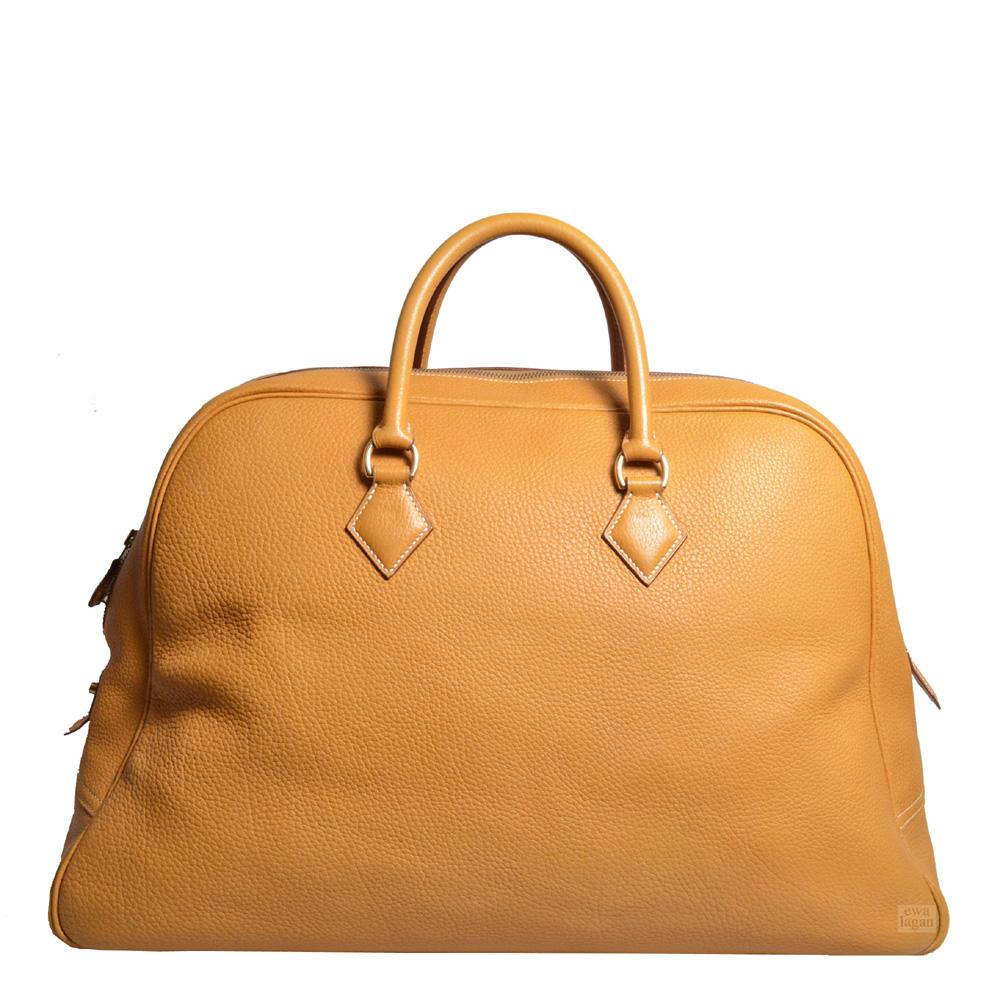 8c3d187756e4c ewa lagan - Hermès Plume Travel Naturel Fjord Leather Gold