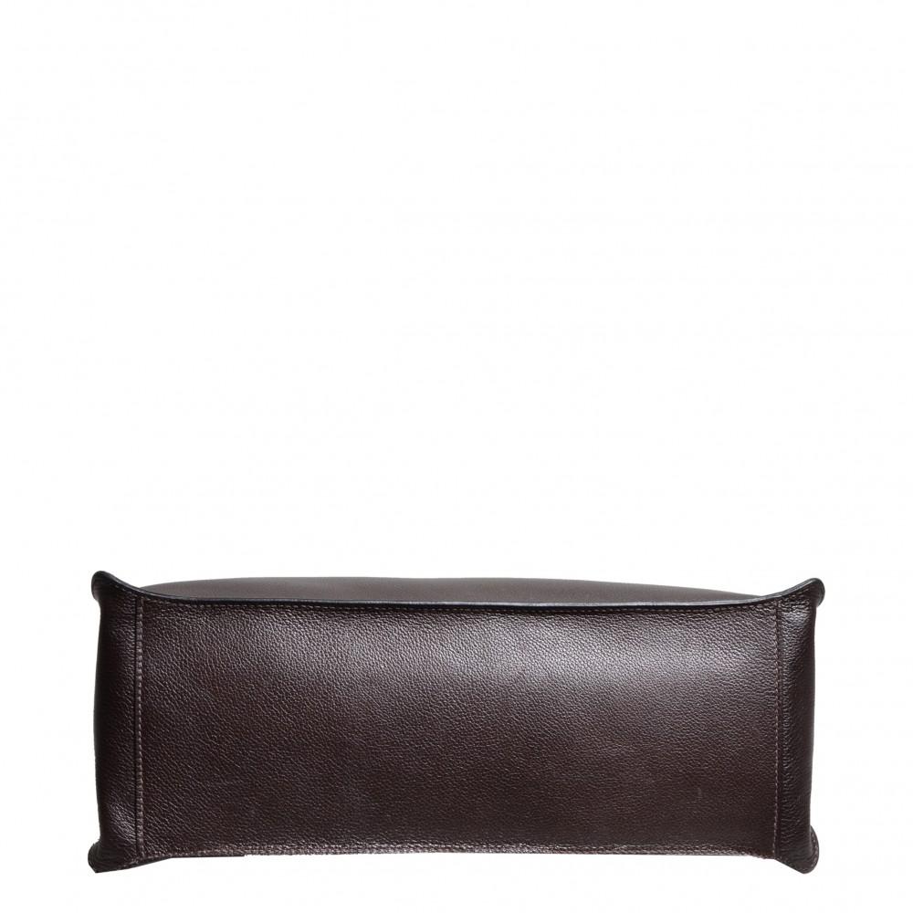 389a51defc ewa lagan - Hermes Etribelt Brown Evergrain Leather Palladium