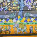 Hermes_carre_90x90_ffantaisies_indiennes_yellow_grey_detail Kopie1