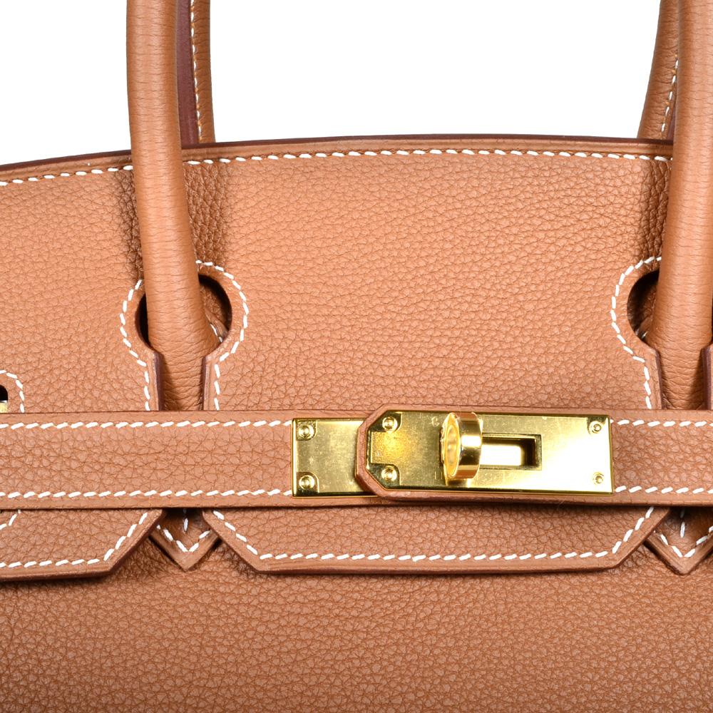 e1a1b1c2cb5 ewa lagan - Hermes Birkin 30 Gold Togo Leather Gold