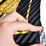 Hermes_carre_plissee_100%silk_salzburg_black_gold_2 Kopie