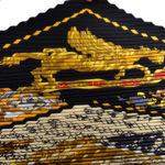 Hermes_carre_plissee_100%silk_salzburg_black_gold_5 Kopie