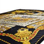 Hermes_carre_plissee_100%silk_salzburg_black_gold_6 Kopie