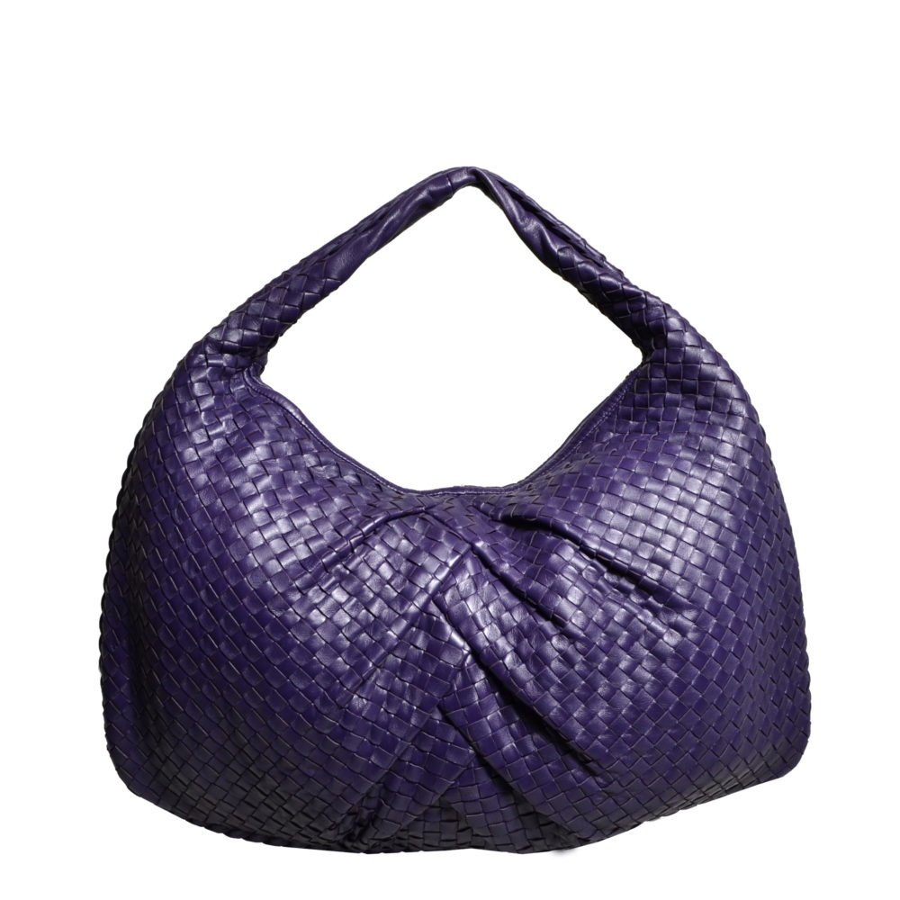 ewa lagan - Bottega Veneta Hobo Purple Bag Tasche Medium Limited Edition 901144590a575
