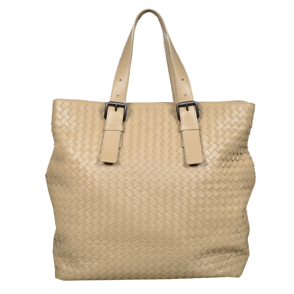 Bottega_Veneta_shoulderbag_leather_beige_1# Kopie