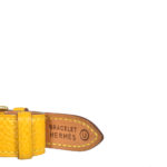 Hermes Meteore watch epsom yellow steel_1 Kopie
