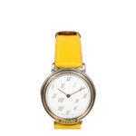 Hermes Meteore watch epsom yellow steel_3 Kopie