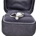 Tiffany & Co Ring Verlobungs Silber mit schtein 3 Kopie