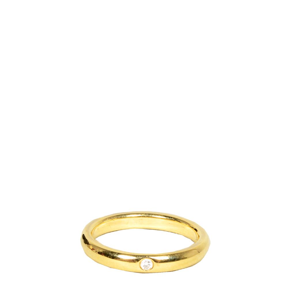 Ewa Lagan Tiffany Co Ring Elsa Peretti Belt Ring Gold Size 50