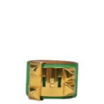 hermes collier de chien bracelet swift bamboo gold L_2 Kopie