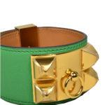 hermes collier de chien bracelet swift bamboo gold L_4 Kopie