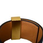 hermes collier de chien bracelet swift blue gold L_4 Kopie