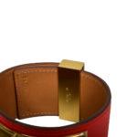 hermes collier de chien bracelet swift rouge gold L_2 Kopie