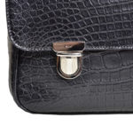 Bally_briefcase_alligator_black_silver_3 Kopie