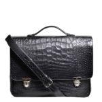 Bally_briefcase_alligator_black_silver_6 Kopie