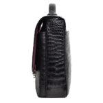 Bally_briefcase_alligator_black_silver_9 Kopie