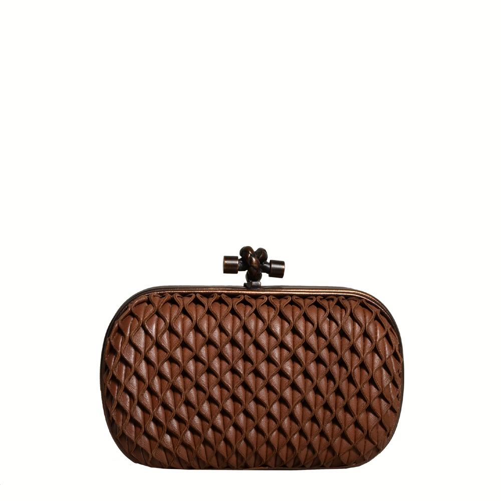 dbee80b5eb ewa lagan - Bottega Veneta Knot bag limited bronze brown