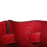 Hermes Kelly 32 Retourne Clemence Rouge Casaque Palladium _7 Kopie