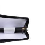 Chanel boy wallet mini zipper Caviarleather black silver _3 Kopie