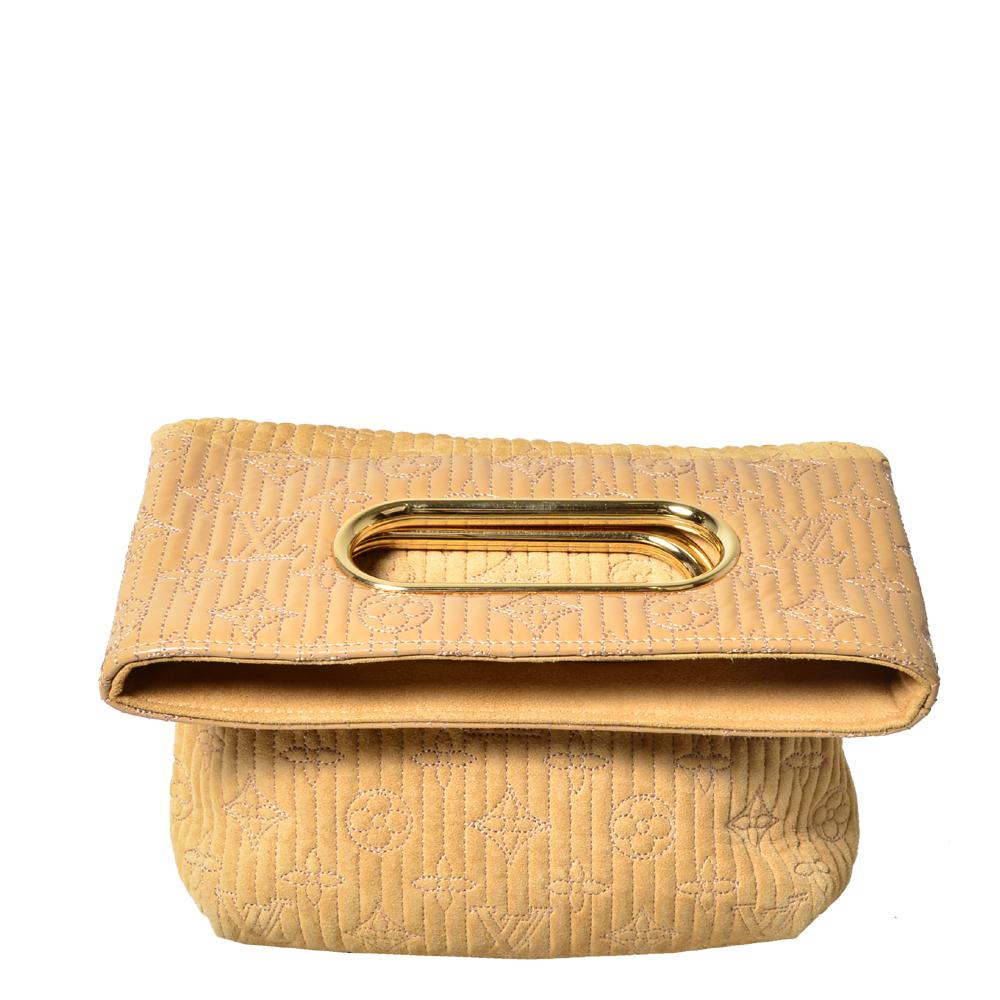 Louis Vuitton Defile Printemps-Ete 2008 Pochette beige gold vernis buckskin_7 Kopie