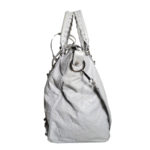 balensiaga classic schoulder bag light grey leather 2 Kopie