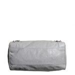 balensiaga classic schoulder bag light grey leather 4 Kopie