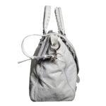 balensiaga classic schoulder bag light grey leather 8 Kopie