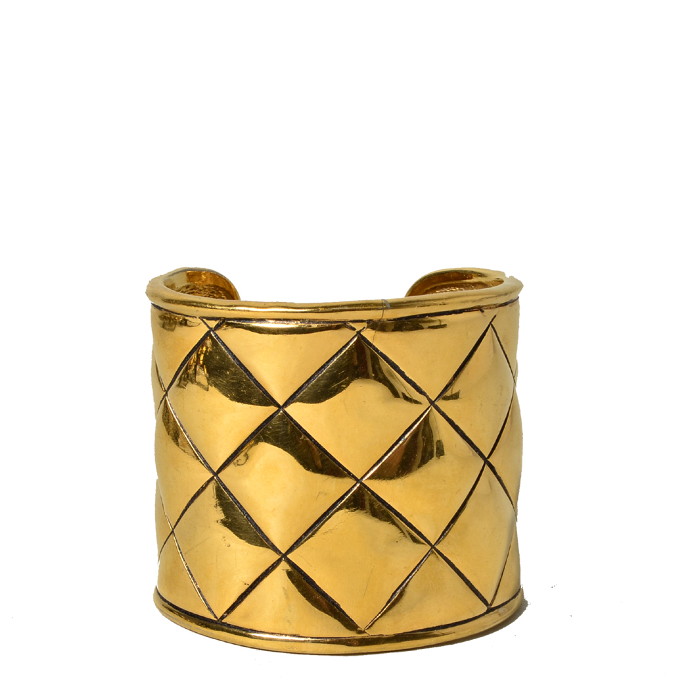 chanel bracelet gold honeycomb 3 Kopie