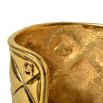 chanel bracelet gold honeycomb 4 Kopie