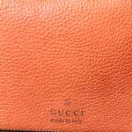 Gucci shoulder bag Harness leather orange_3 Kopie