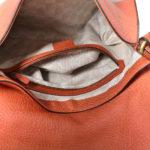 Gucci shoulder bag Harness leather orange_4 Kopie