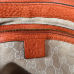 Gucci shoulder bag Harness leather orange_8 Kopie