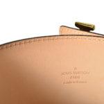 Louis Vuitton LV Initalies vernis bordeaux gold_2 Kopie