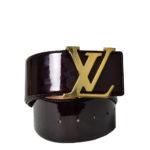 Louis Vuitton LV Initalies vernis bordeaux gold_3 Kopie