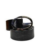 Louis Vuitton belt epi electric black silver_1 Kopie