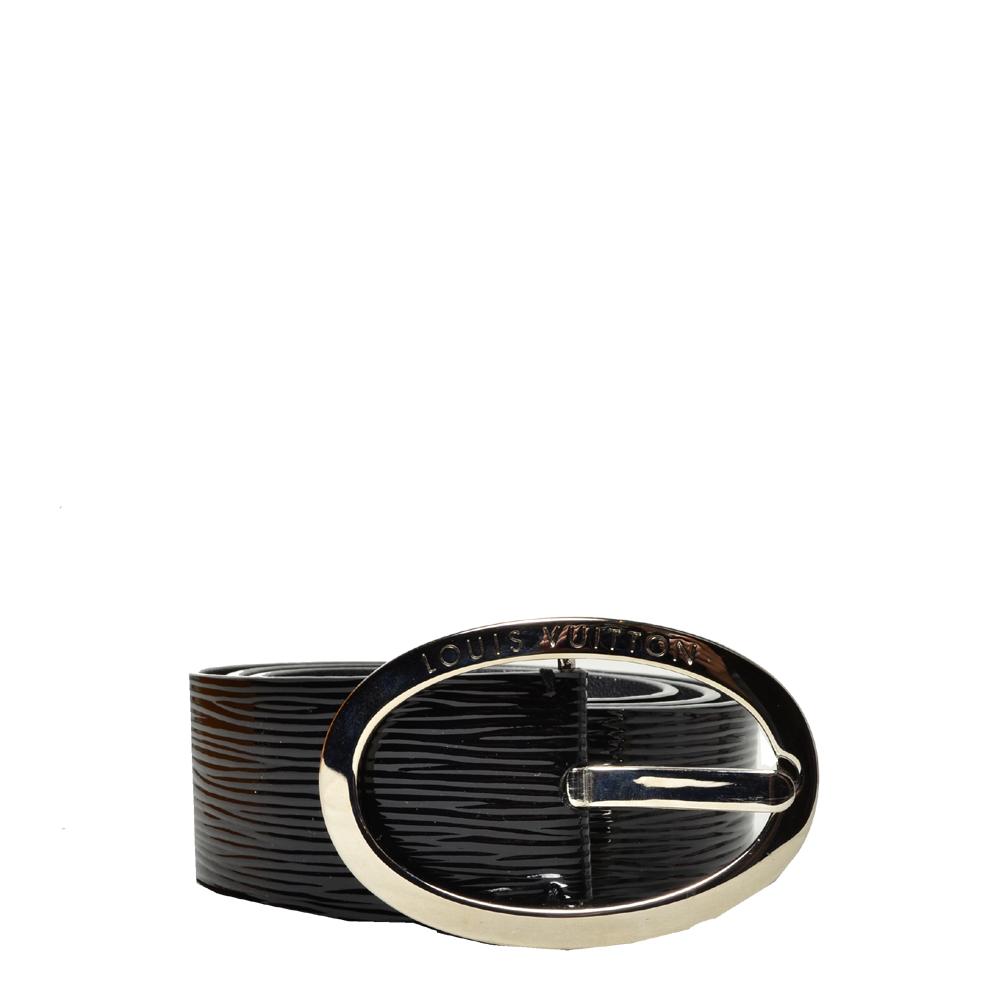 Louis Vuitton belt epi electric black silver_2 Kopie