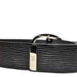 Louis Vuitton belt epi electric black silver_5 Kopie