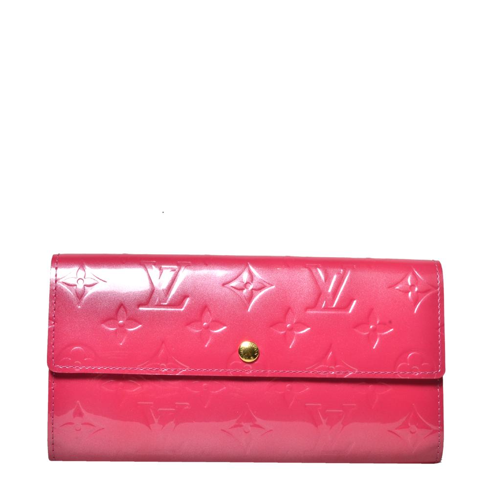 Louis Vuitton sarah wallet vernis pink11 Kopie