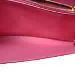 Louis Vuitton sarah wallet vernis pink5