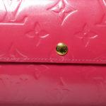 Louis Vuitton sarah wallet vernis pink8